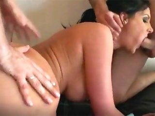 2 CoCks USING Hot MOTHER...
