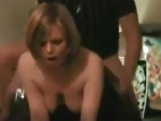 Amateur MILF throat and ass...